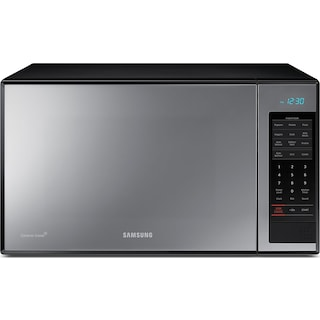 Samsung Black Mirror Countertop Microwave (1.4 Cu. Ft.) - MG14J3020CM/AC