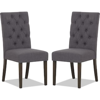 Brierfield Grey 2-Pack Dining Chairs