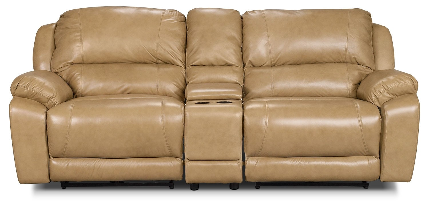 Living Room Furniture - Morley 3-Piece Power Reclining Sectional