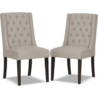 Brierfield Ivory 2-Pack Wing Chairs