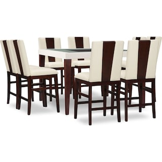 Tadley Counter-Height 9-Piece Counter-Height Dining Package