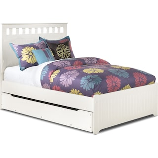 Casla Full Panel Bed with Trundle