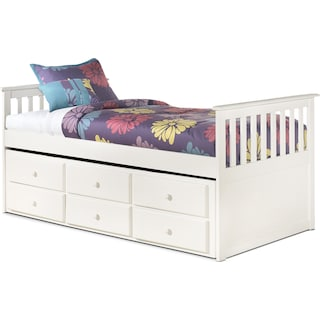 Casla Twin Captain's Trundle Bed