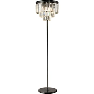 Palacial Three Light Floor Lamp