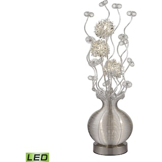 Lazelle Floral Display Floor Lamp