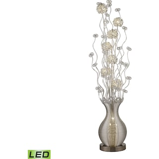 Uniontown Floral Display LED Floor Lamp