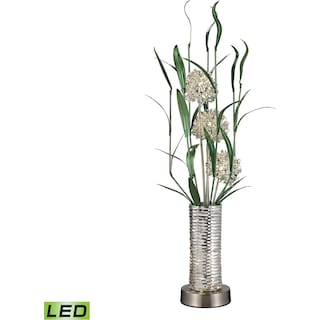 Windbear Floral Display LED Floor Lamp