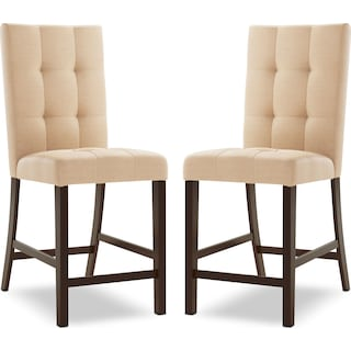 Wivenhoe Counter-Height Dining Chair– Sand (Set of 2)