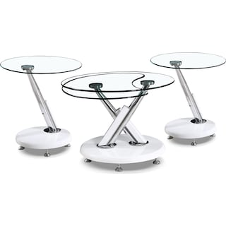 Stalham 3-Piece Coffee and Two End Tables Package