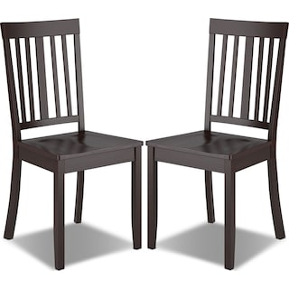 Breda Dining Chair, Set of 2 – Cappuccino