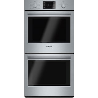 Bosch 500 Series 7.8 Cu. Ft. Double Wall Oven – HBN5651UC