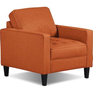 Atherton Chair – Tangerine