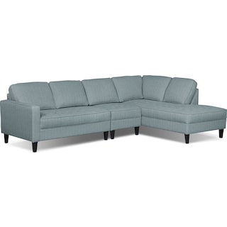 Atherton 3-Piece Right-Facing Sectional – Spa