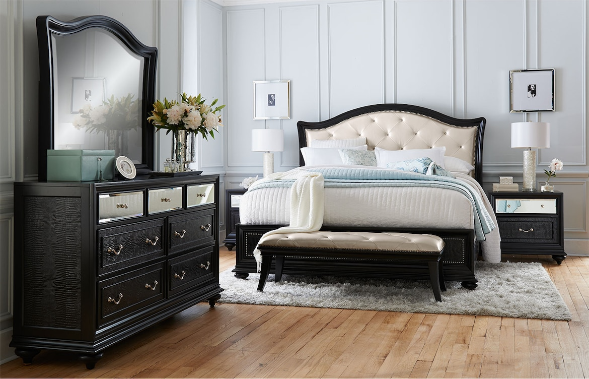 Bedroom Furniture - The Hayworth Collection - Queen Bed