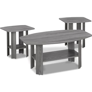 Tramore 3-Piece Table Package - Grey