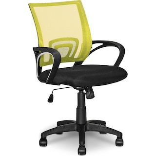 Caltra Office Chair – Yellow