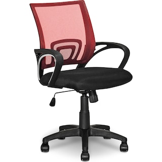 Caltra Office Chair – Red