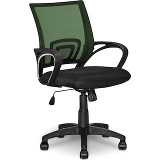 Caltra Office Chair – Dark Green