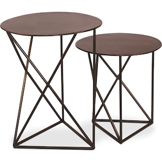 Buxton Iron Accent Table – Set of 2