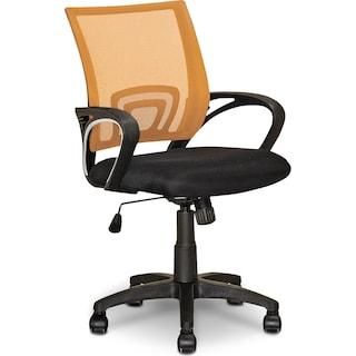 Caltra Office Chair – Orange