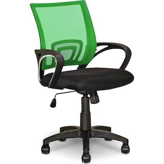 Caltra Office Chair – Medium Green