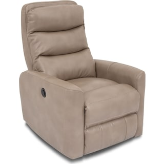 Downey Power Recliner – Taupe