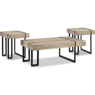 Ruan 3-Piece Table Set