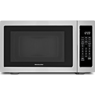 KitchenAid Stainless Steel Countertop Convection Microwave (1.5 Cu. Ft.) - KCMC1575BSS