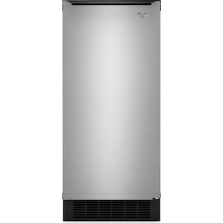 "Whirlpool Gold® 15"" Ice Maker with Reversible Door - GI15NDXZB"