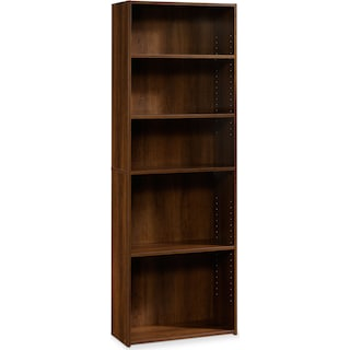 Currow 3-Shelf Bookcase – Brook Cherry