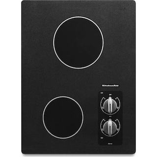 KitchenAid 15'' Electric Cooktop – KECC056RBL