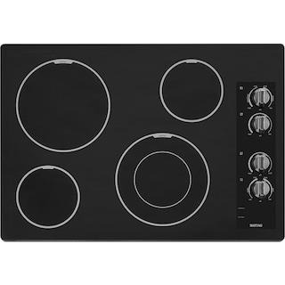 "Maytag 30"" Electric Cooktop – MEC7430BB"