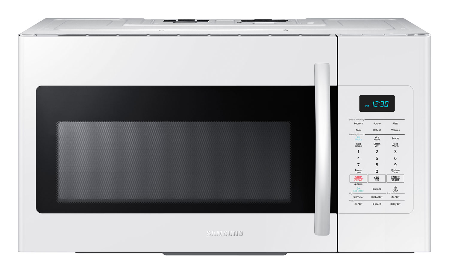 Cooking Products - Samsung 1.7 Cu. Ft. Over-the-Range Microwave – White