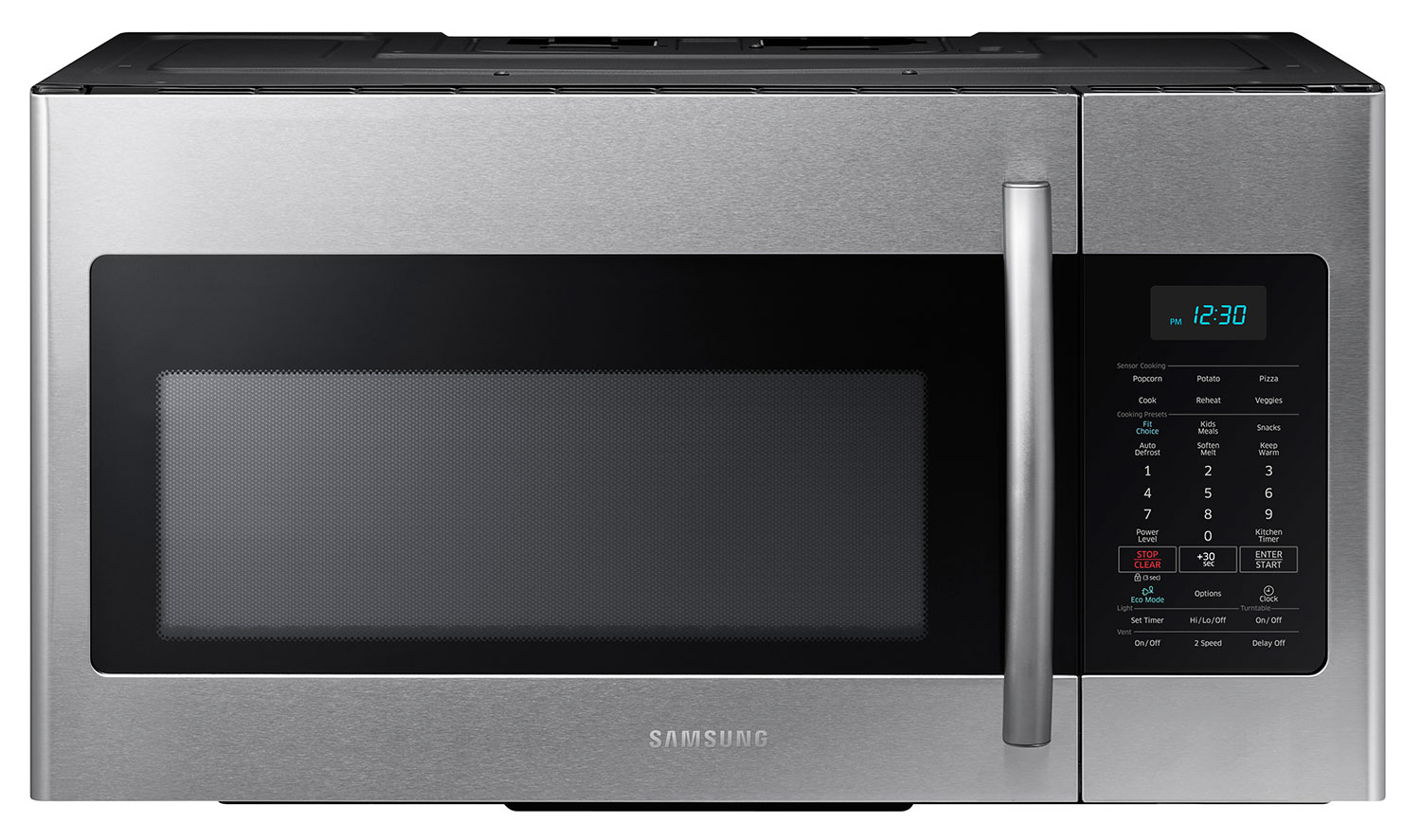 Cooking Products - Samsung 1.7 Cu. Ft. Over-the-Range Microwave – Stainless Steel