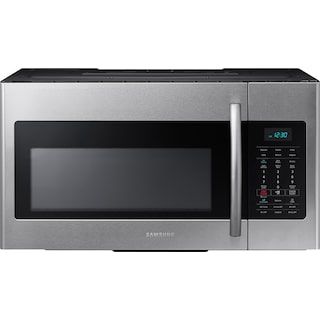 Samsung 1.7 Cu. Ft. Over-the-Range Microwave – Stainless Steel