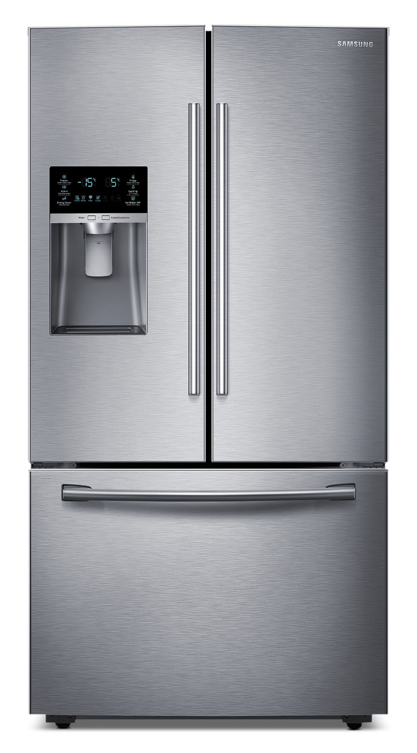 Refrigerators and Freezers - Samsung 28 Cu. Ft. French-Door Bottom-Freezer Refrigerator – Stainless Steel