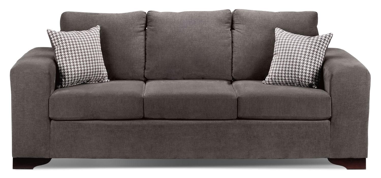 Knox Grey Sofa - Grey