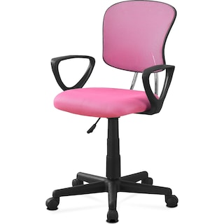 Clovis Kids' Desk Chair - Pink