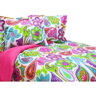 Anaheim 3-Piece Full Comforter Set