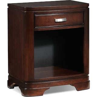 New Norco Night Table - Deep Cherry
