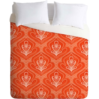 Coral Sea Collection 4- Queen 3 Piece Duvet Cover Set by Hadley Hutton