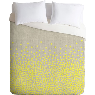 Sprinkle - Queen 3 Piece Duvet Cover Set by Iveta Abolina