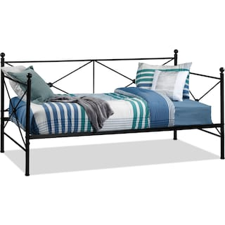 Benicia Twin Daybed - Black