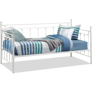 Benicia Twin Daybed - White