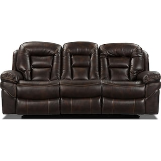 Leyburn Power Reclining Sofa – Walnut