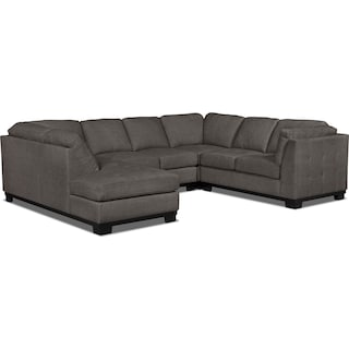 Carlow 4-Piece Left-Facing Sectional – Platinum