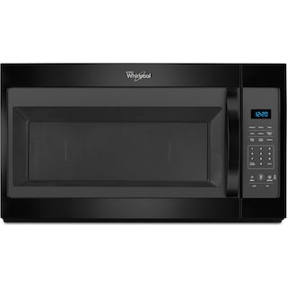 Whirlpool Black Over-the-Range Microwave (1.7 Cu. Ft.) - YWMH31017FB