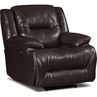 Indio Power Reclining Chair – Brown