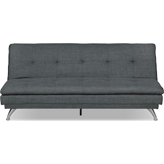 Laytown Futon – Charcoal