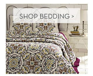 Shop Bedding >